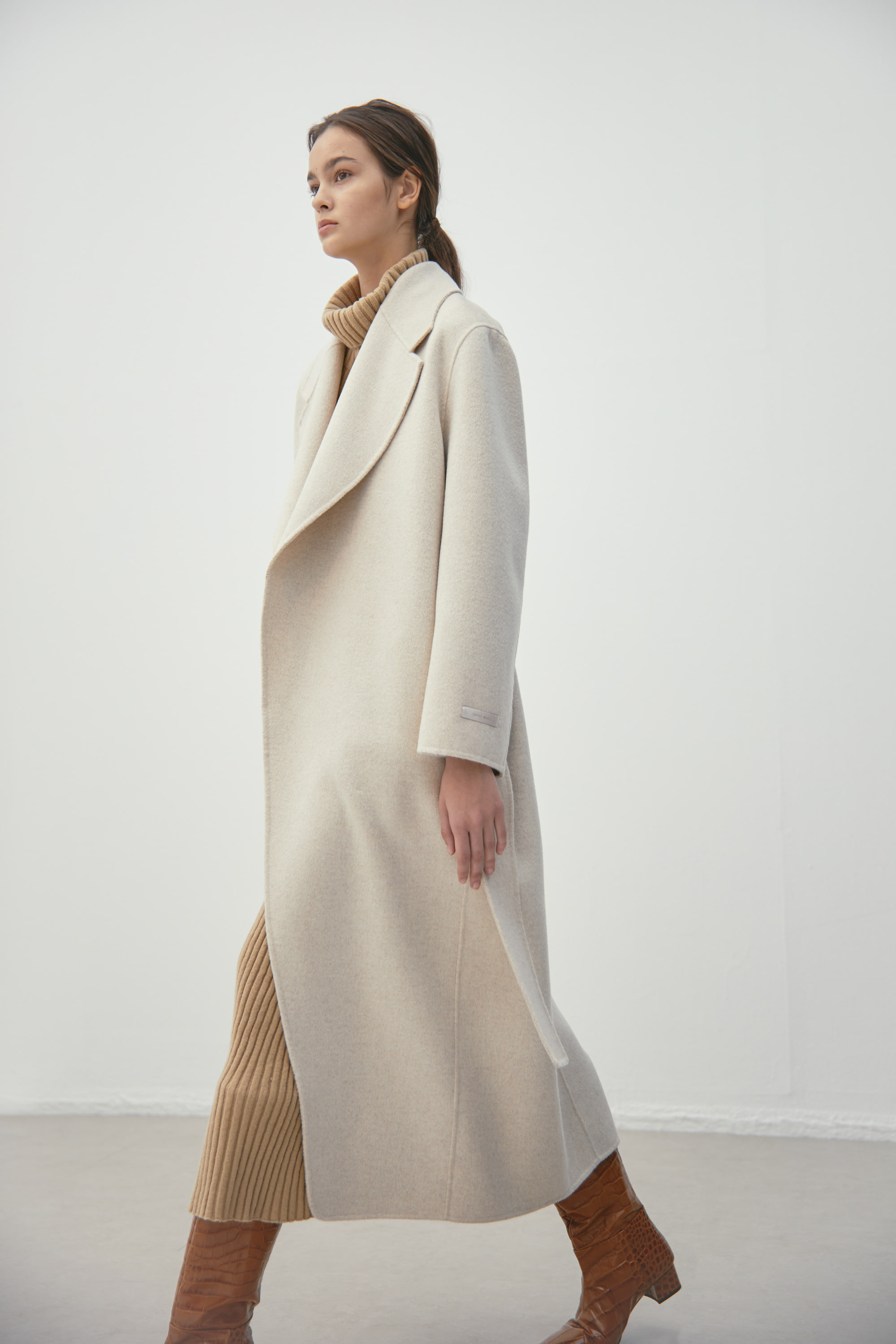 BELTED LONG COAT / S93CT9001