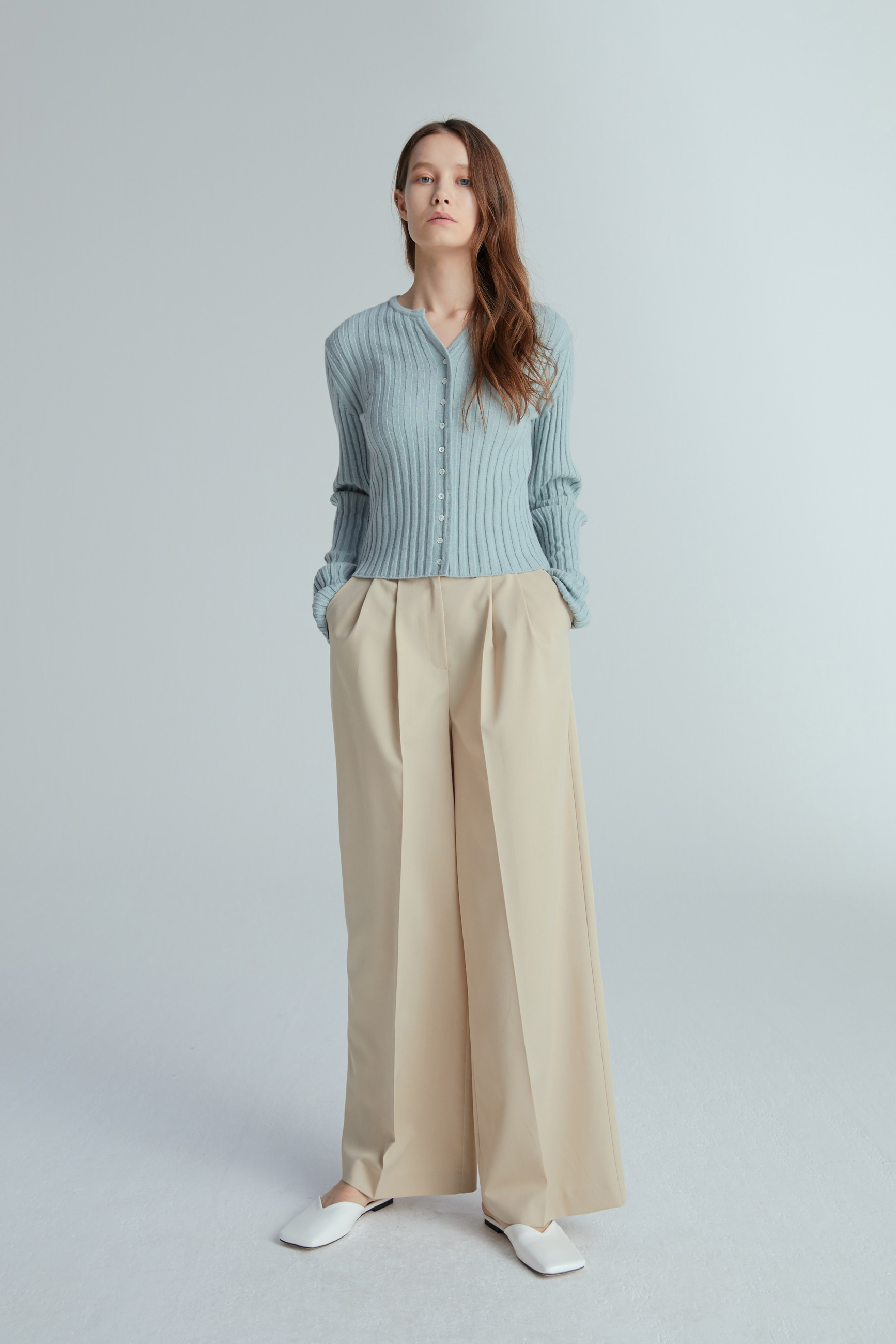 SALON PANTS (BEIGE)